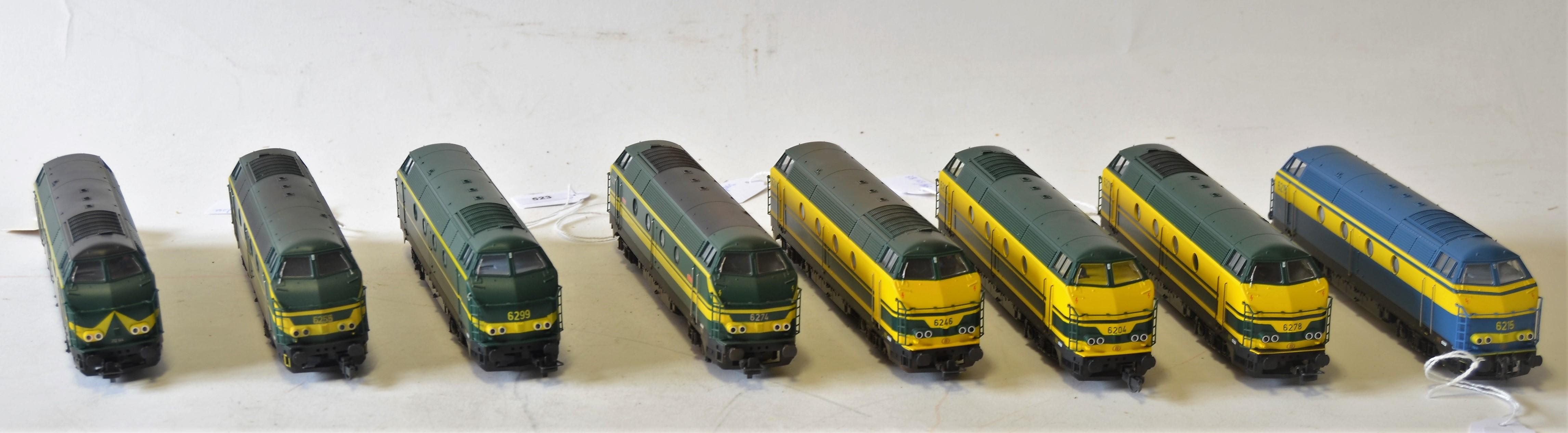 Trains belges HO