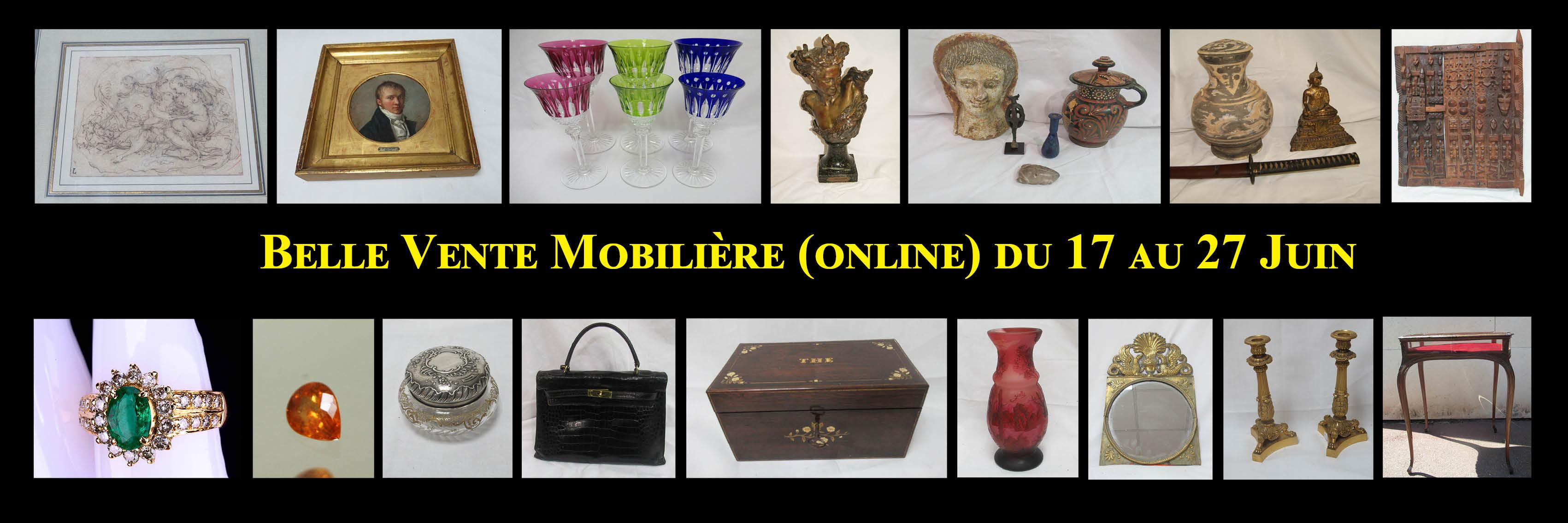Belle vente mobilière