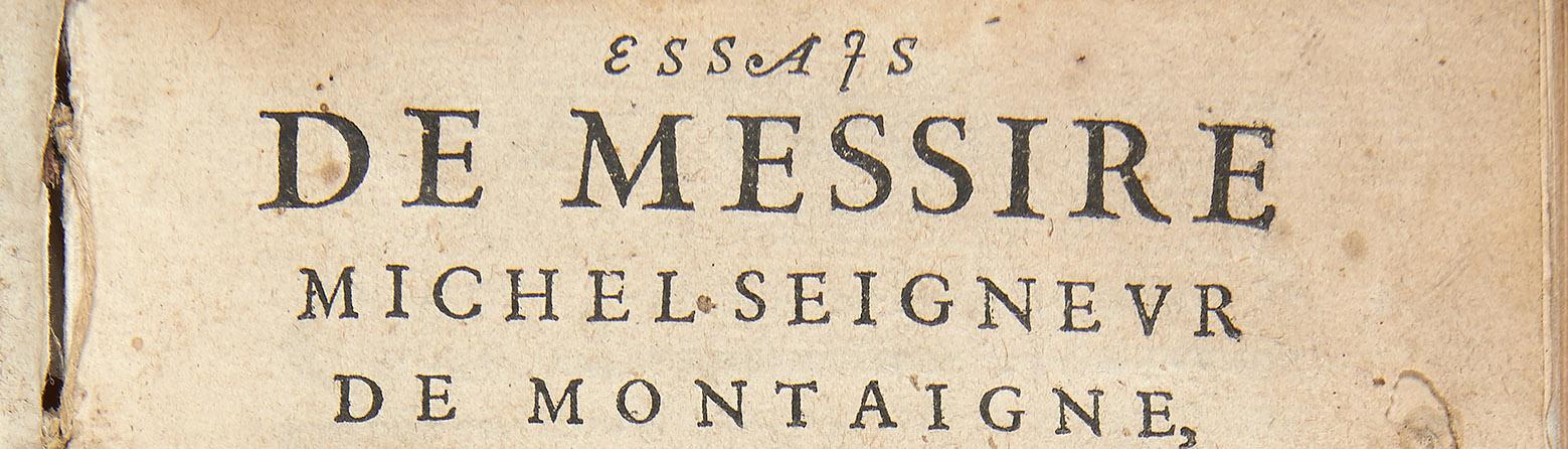 Essais - 1580