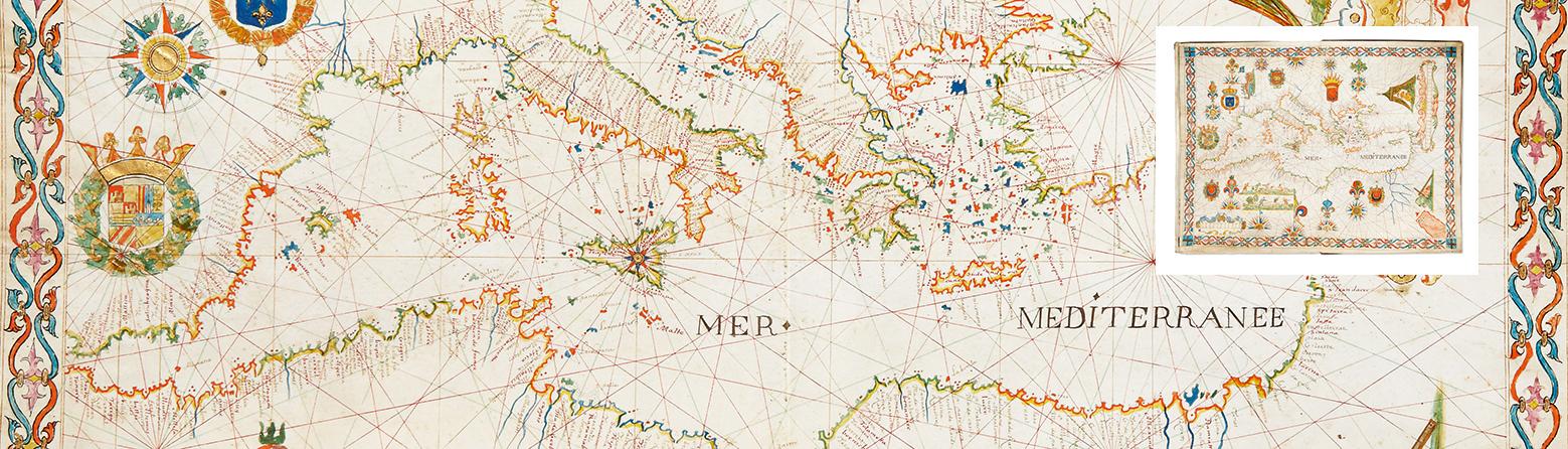 Atlas manuscrit - 1648