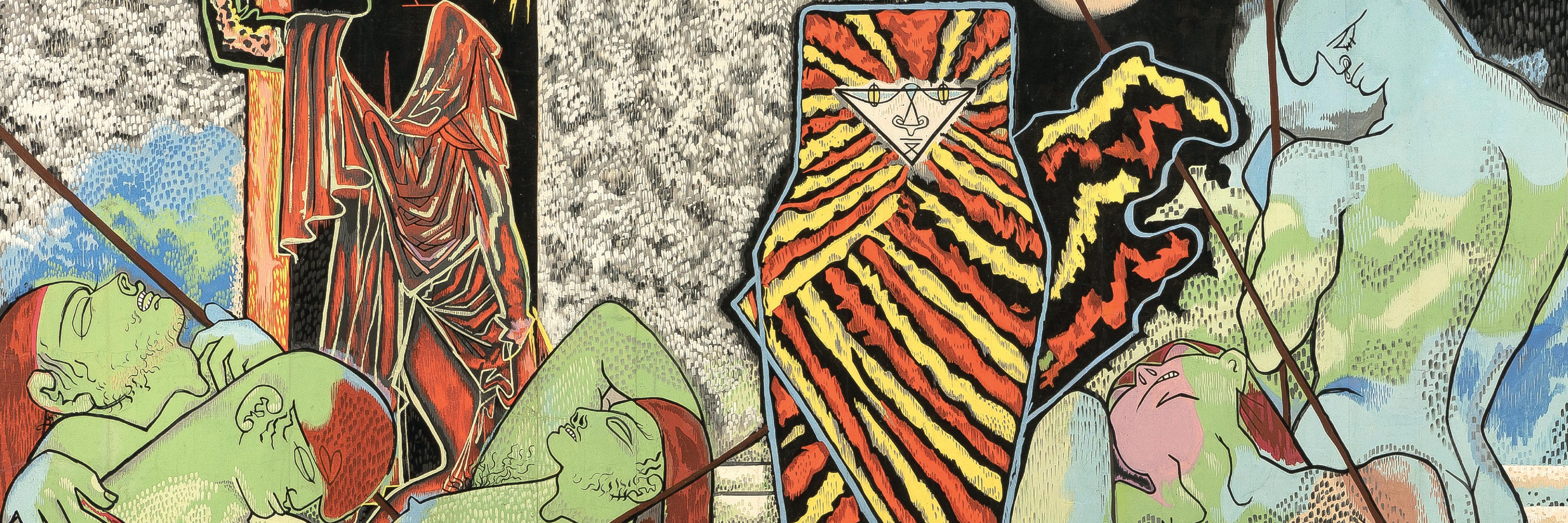 Jean Cocteau, carton de la tapisserie de Judith et Holopherne