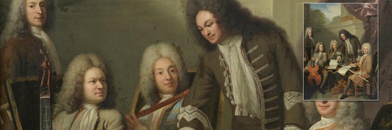 Tableau d'André BOUYS (1656-1740)    Le Concert