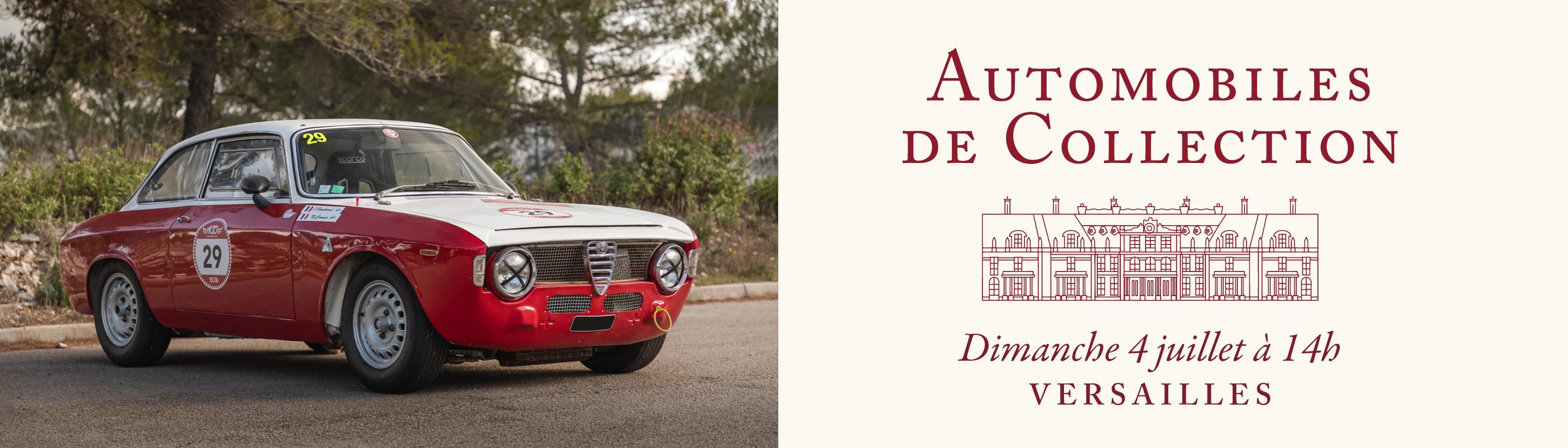 Automobiles de Collection - Versailles