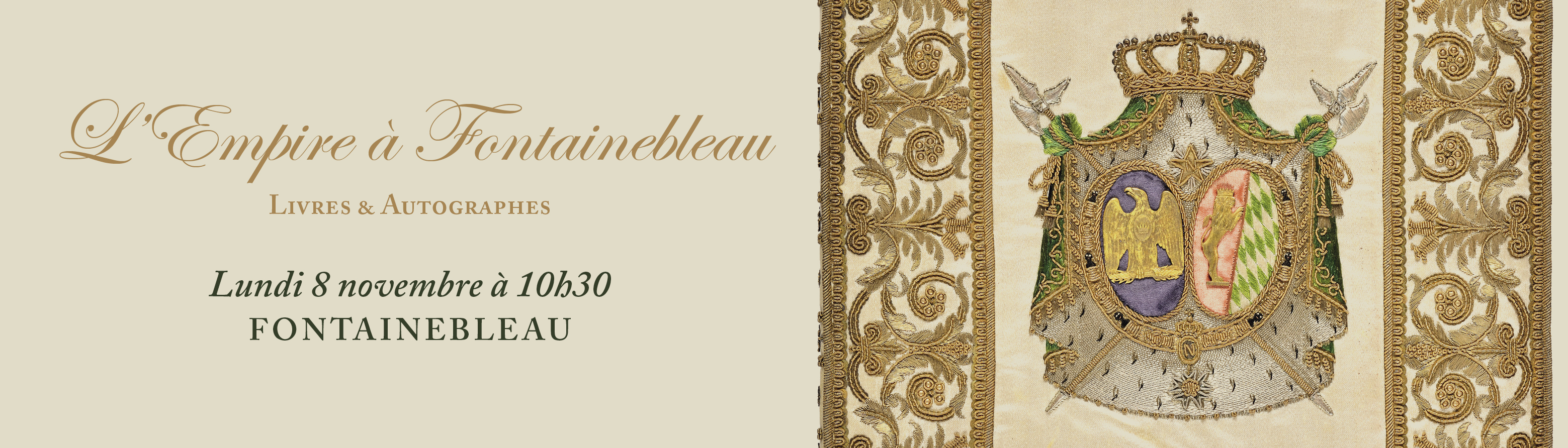 L'Empire à Fontainebleau - Livres & Manuscrits