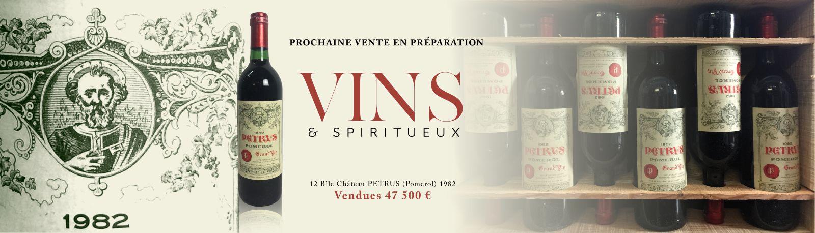 PETRUS : PROCHAINE VENTE EN PREPARATION