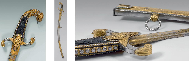 Sabre de la Manufacture royale de Naples,
